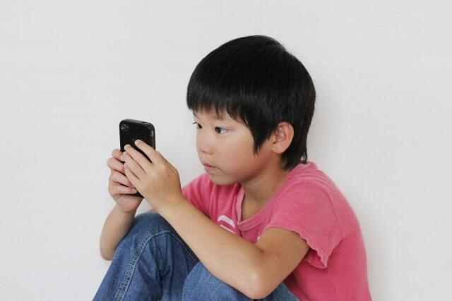 小学生のキッズ携帯