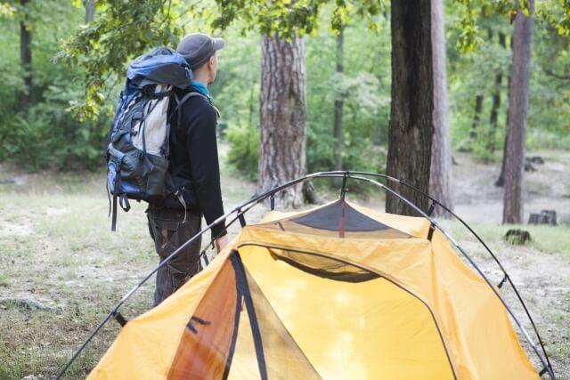 手ぶらでキャンプ