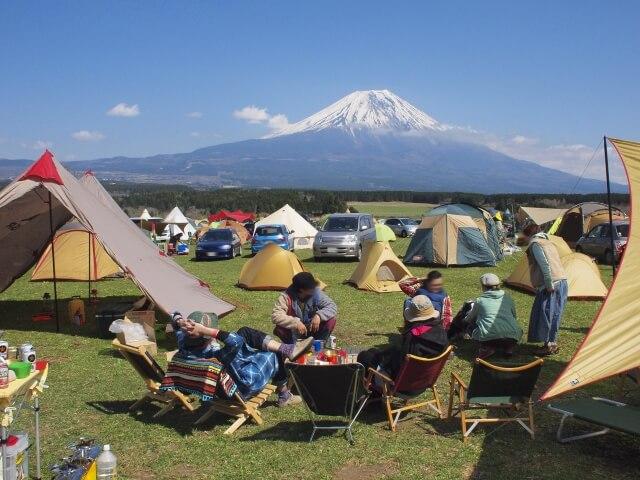 富士山手ぶらキャンプ