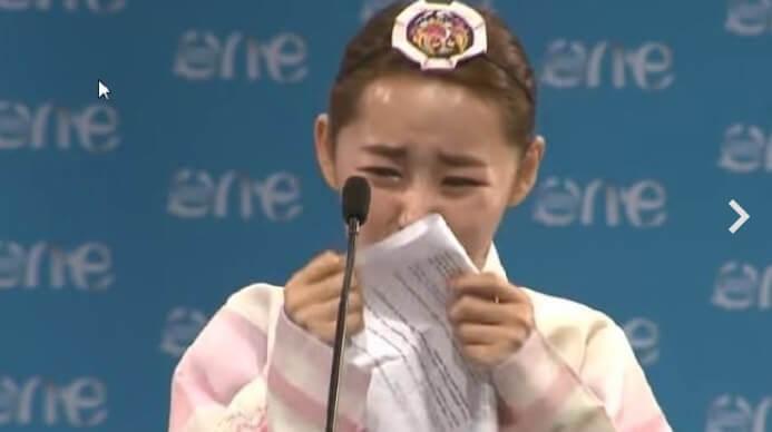 パク・ヨンミ(朴妍美)さんのスピーチ
