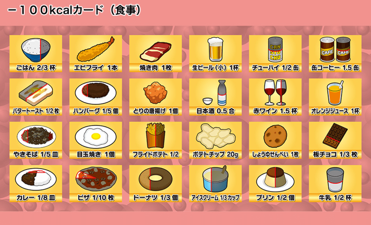 -100kcal食事
