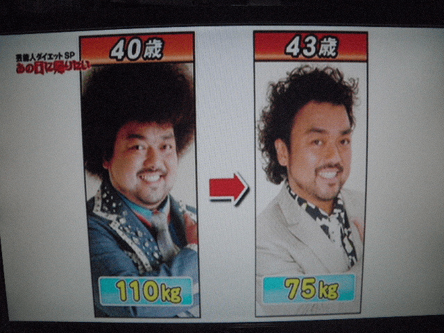 35キロ減のビフォーアフター